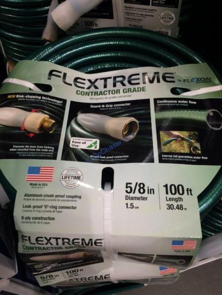 Costco-1184115-Flexon-100ft –Contractor-Grade –Hose