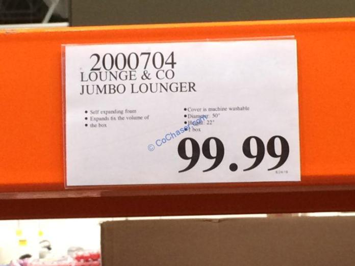 Costco-2000704-Lounge –Co-Jumbo-Lounger-tag