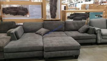 Cool Bainbridge Fabric Sectional With Ottoman Modelcou4357 03 Creativecarmelina Interior Chair Design Creativecarmelinacom