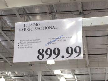 Costco-1118246- Fabric-Sectional-tag