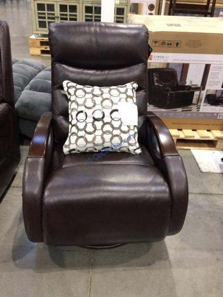 Costco-1900166-True-Innovations-Leather-Glider-Recliner