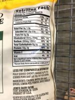 Costco-1211239-Jones-Dairy-Farm-ABF-Chicken-Links-chart