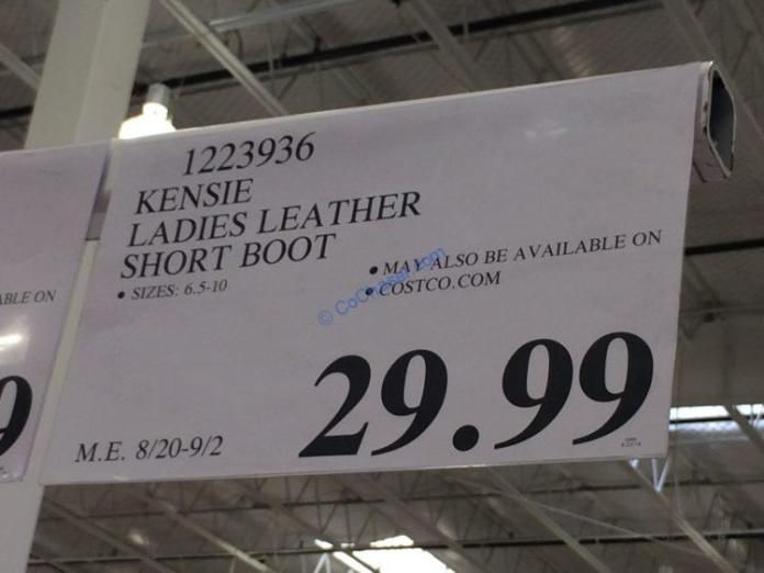 Costco-1223936-Kensie-Ladies-Short-Leather-Boot-tag
