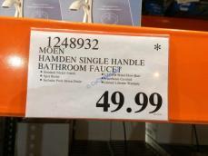 Costco-1248932-MOEN-Hamden-Single-Handle-Bathroom-Faucet-tag