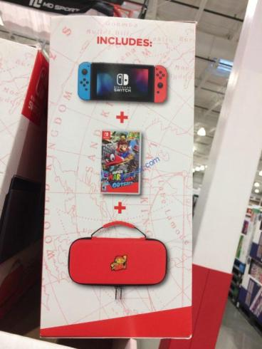 Nintendo Switch Bundle With Switch Case And Super Mario Odyssey Video Game Costcochaser Maybe our free nintendo switch in stock tracker can help! nintendo switch bundle with switch case