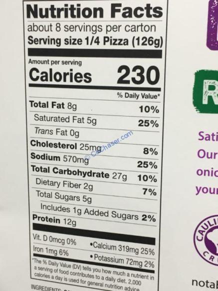 Costco-1194639-Miltons-Veggie-Pizza-Cauliflower-Crust-chart