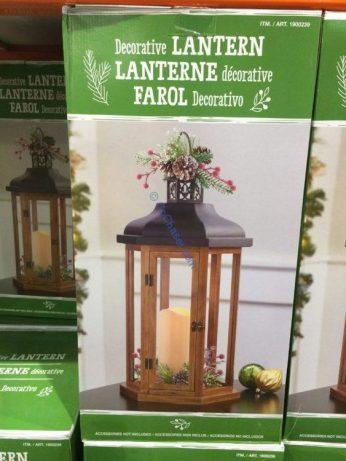 Costco-1900239-Decorative-Lantern-Flickering-LED-Candle1