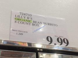 Costco-724733-Lilly-B-Orgaic-Bean-Burrito-tag