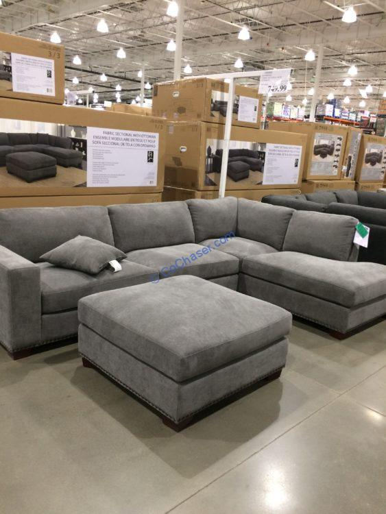 bainbridge fabric sectional with