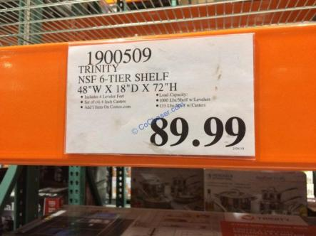 Costco-1900509-Trinity-NSF-6-Tier-Shelf-tag
