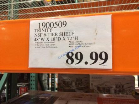 Costco-1900509-Trinity-NSF-6-Tier-Shelf-tag