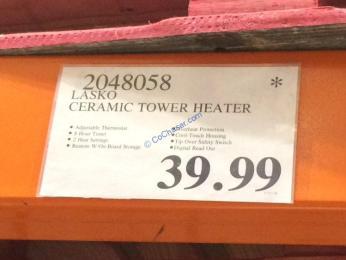 Costco-2048058-Lasko-Ceramic-Tower-Heater-tag