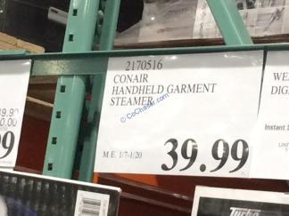 Costco-2170516-Conair-Handheld-Garment-Steamer-tag