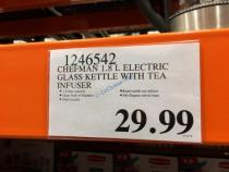 Costco-1246542-Chefman-Electric-Glass-Kettle-with-Tea–Infuser-tag