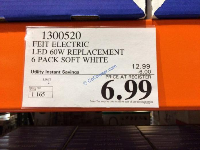 Coscoto-1300520-Feit-Electric-LED-60W-Replacement-tag