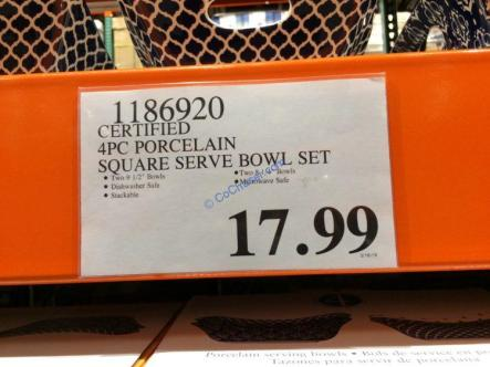 Costco-1186920-Certified-4PC-Porcelain-Square-Serve-Bowl-Set-tag