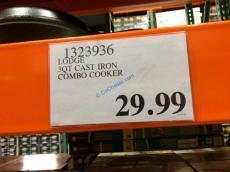 Costco-1323936-Lodge- Cast-Iron-Combo-Cooker-tag