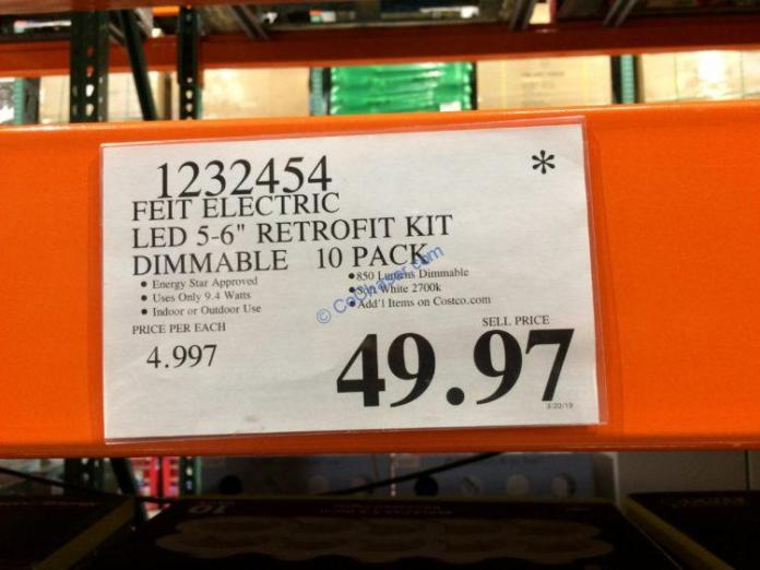 Costco-1232454-Felt-Electric-LED-5-6-Retrofit-Kit-Dimmable-tag
