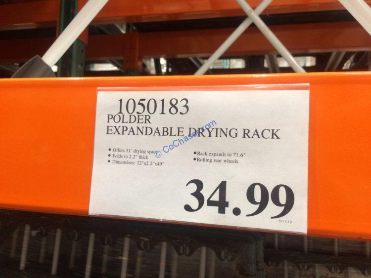 costco 1050183 polder expandable drying