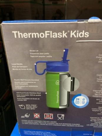 Thermoflask Kids Stainless Steel Water Bottles 2pk