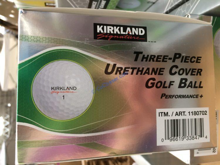 Kirkland Signature 3 Piece Urethane Cover Golf Ball 24