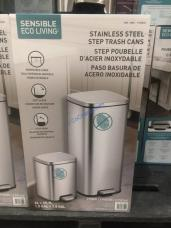 Costco-1193833-EKO-30L-6 L-Step-Pedal-Stainless-Steel-Trash-Bin3