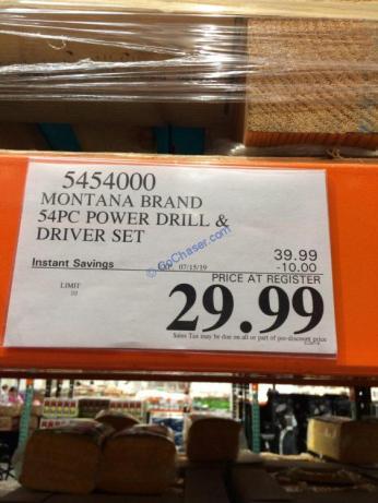 Costco-5454000-Montana-Brand-54P-Power-Drill-Driver-Set-tag