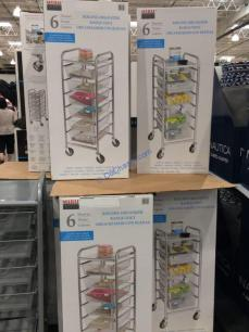 Costco-1237485-6-DrawerMesh-Organizer-Cart-all