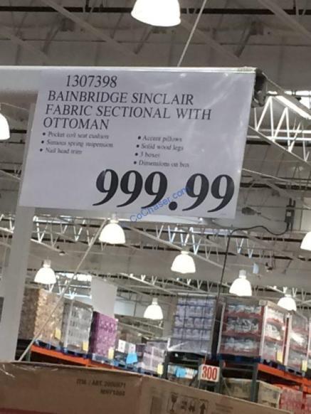 Costco-1307398-Bainbridge-Sinclair-Fabric-Sectional-with-Ottoman-tag