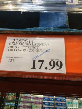 Costco-2160644-Gain-Liquid-Laundry-High-Efficient-Detergent-tag