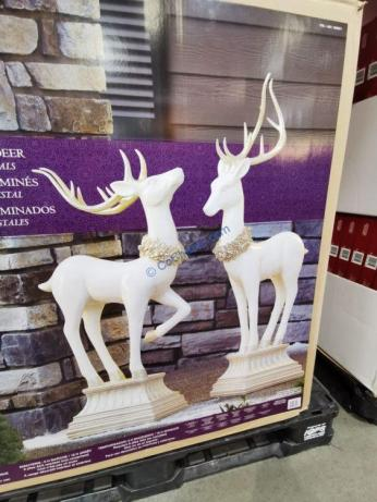 Costco-1900271-LED-Lighted-Pedestal-Deer3