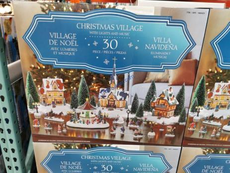 Costco-1900321-Christmas-Village-with-Lights-and-Music1