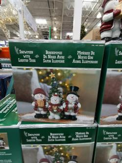 Costco-1900367-Snowmen-Trio-with-Lighted-Tree1