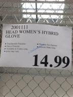 Costco-2001111-Head-Womens-Hybrid-Gloves-tag