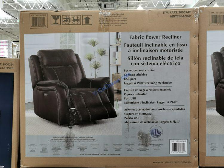 Fabric Power Recliner – CostcoChaser