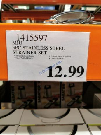 Costco-1415597-MIU-3PC-Stainless-Steel-Strainer-Set-tag