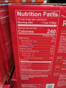 Costco-1401806-Royal-Garlic-and-Ghee-Rice-chart