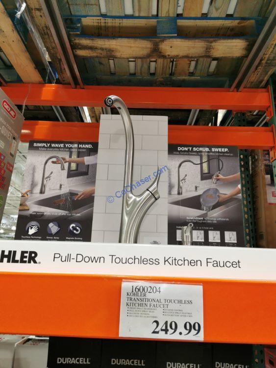 kohler transitional touchless kitchen