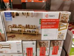 Costco-1476753-TRINITY-Bamboo-Shoe-Rack1