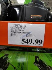 Costco-1397419-Greenworks-80V-Battery-Powered-Mower-tag