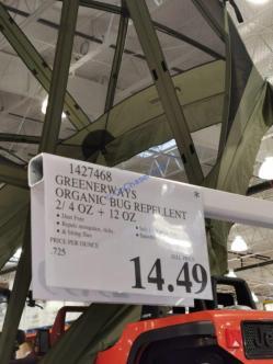 Costco-1427468-Greenerways-Organic-Bug-Repellent-tag