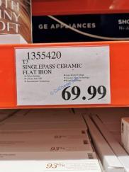 Costco-1355420-T3-Singlepass-Ceramic-Flat-Iron-tag