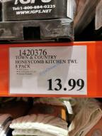 Costco-1420376-Town-Country-Honeycomb-Kitchen-Towels-tag