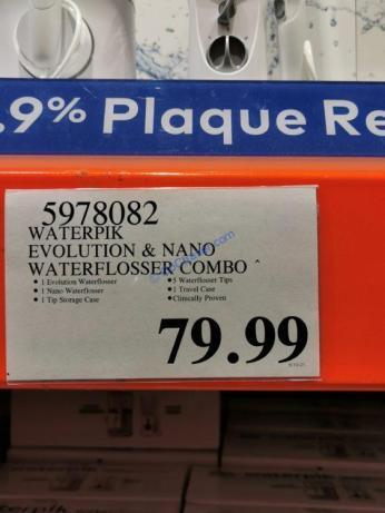 Costco-5978082-Waterpik-Evolution-and-Nano-Water-Flosser-Combo-tag