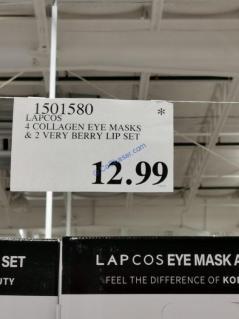 Costco-1501580-LAPCOS-Collagen-Eye-Masks-Lip-Set-tag
