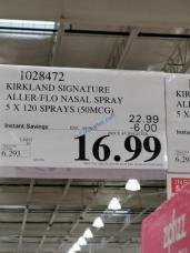 Costco-1028472-Kirkland-Signature-Aller-Flo-Nasal-Spray-tag