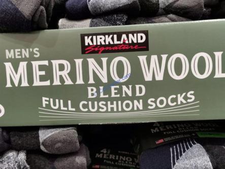 Costco-7771320-Kirkland Signature-Mens-Wool-Blend-Sock-name