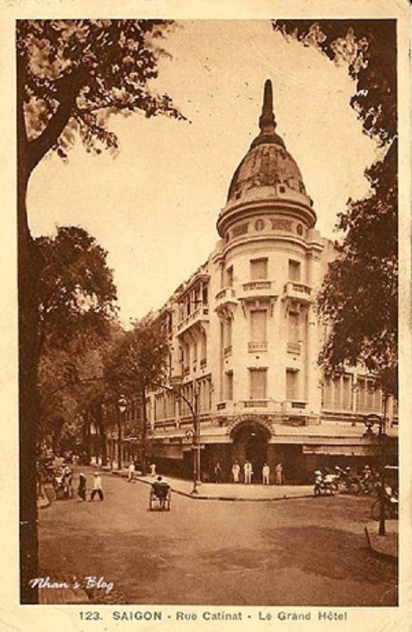 Đường Catinat - Le Grand Hotel