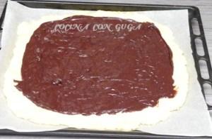 relleno chocolate torta de la virgen