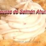 Mousse de Salmón ahumado para canapés y tostas